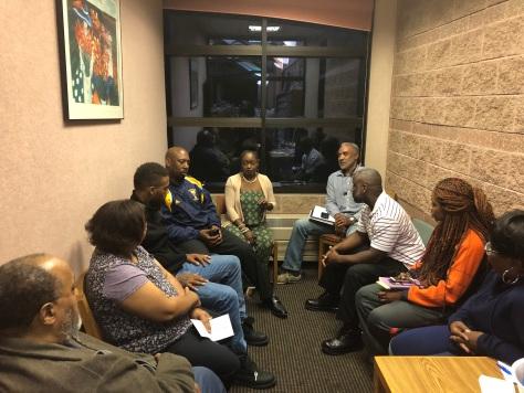 Meeting w/Community Members