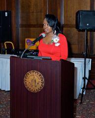 Dr. Nakia Hall, President of Crete-Monee School District